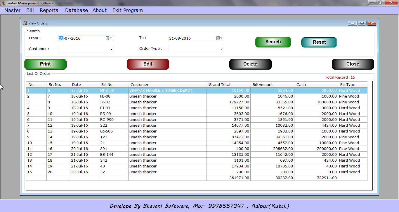 Bhavani Software
